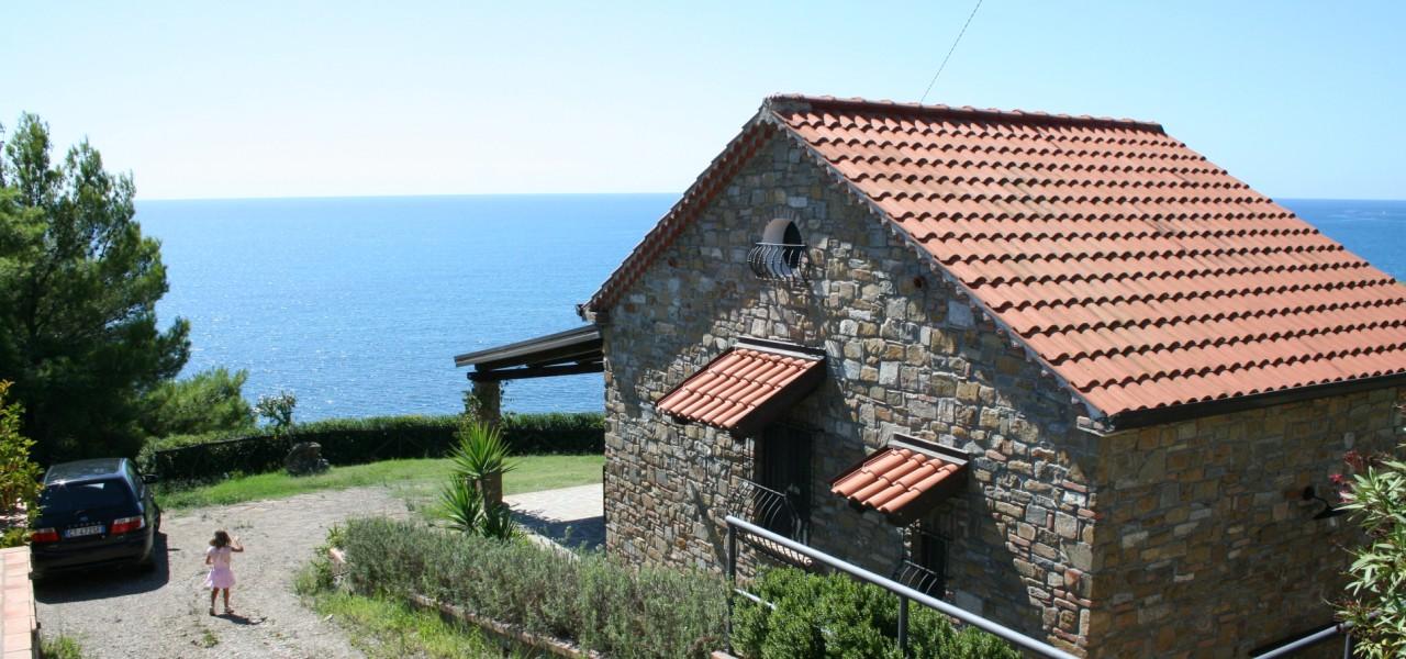 Strandhaus Italien