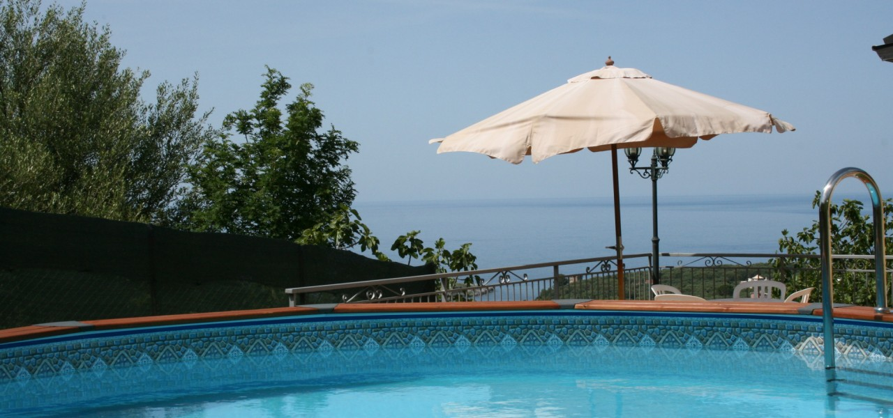 cilento Ferienhaus mit pool