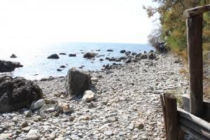 Strand in der Nähe von Il Casaletto di Franca